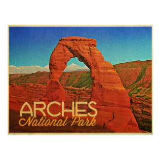 Arches National Park Post Card