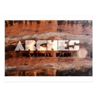 Arches National Park Postcard