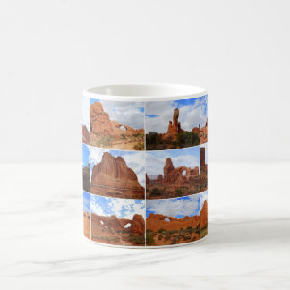 Arches National Park, Utah, Collage Mug