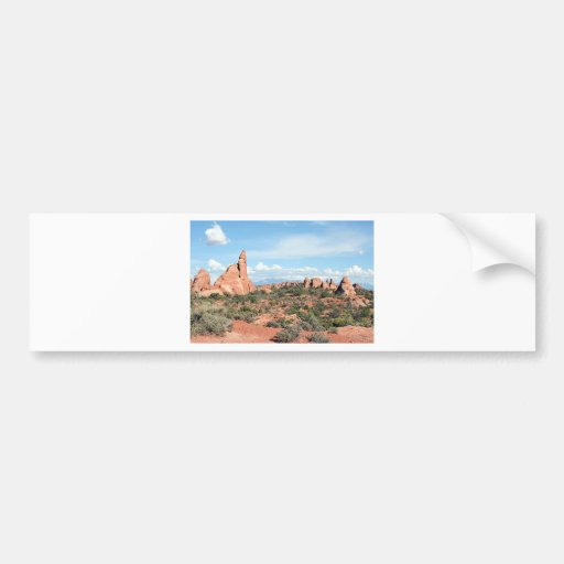 Arches National Park, Utah, USA 2 Bumper Stickers