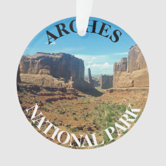 Arches National Park Utah USA travel Ornament