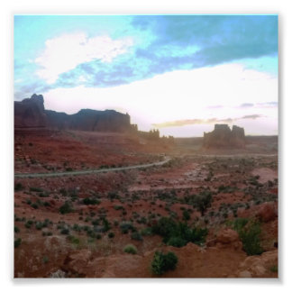 Arches National Park Viewpoint Photograph