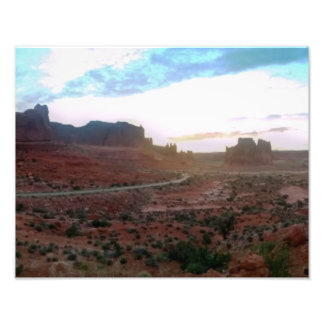 Arches National Park Viewpoint Photographic Print