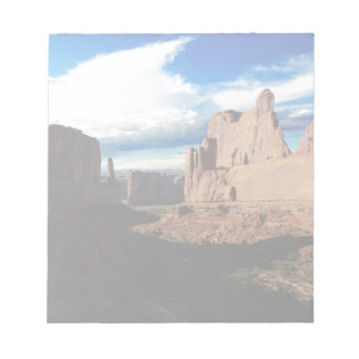 Arches National Park Wall Street Notepad