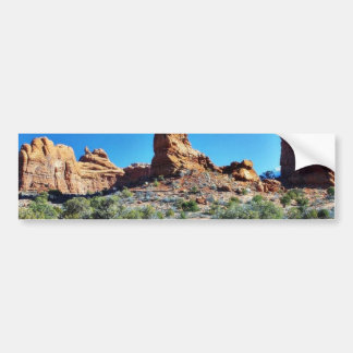 Arches National Parks Balancing Stones Balanced Bumper Stickers