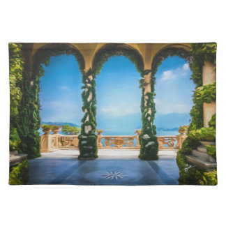Arches of Italy Colorful Elegant Photo Art Placemat