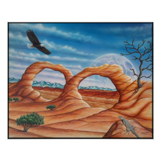 Arches Painting Poster