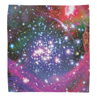 Arches Star Cluster Colorful Artist Impression Bandana