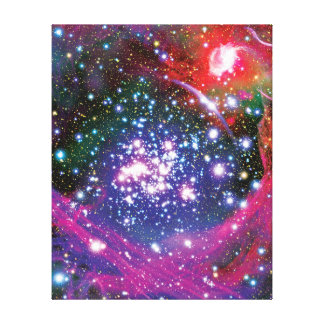 Arches Star Cluster Gallery Wrapped Canvas