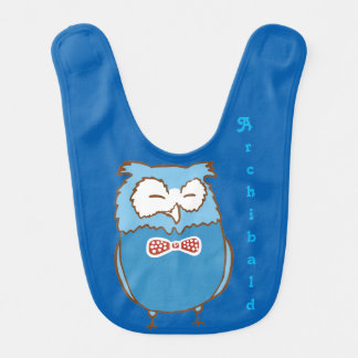 Archibald owl bib