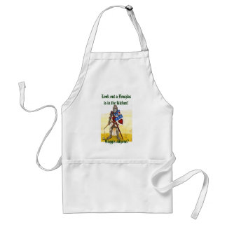 Archie Apron, Look out a Douglas is in the kitchen Standard Apron