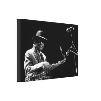 Archie Shepp 1 by P. Baud Banlieues Bleues 2010 C Gallery Wrapped Canvas