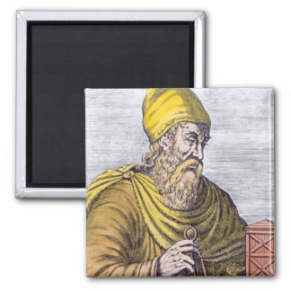 Archimedes Square Magnet