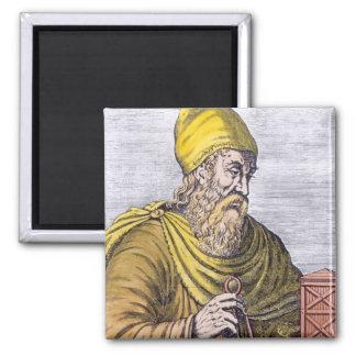 Archimedes Square Magnet