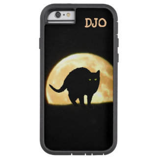 Arching Black Cat and Super Moon Tough Xtreme iPhone 6 Case