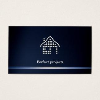 Architect Blue Business Card