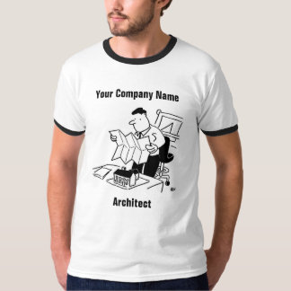 Architect Cartoon T-Shirt