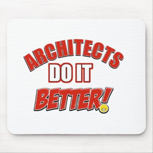 Architect designs mouse pads