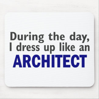 Architect During The Day Mouse Pads