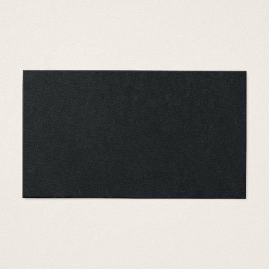 Architect Elegant Professional Black Luxury Business Card