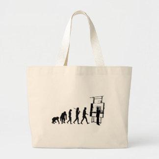 Architect Evolution of Architecture Draftsman Jumbo Tote Bag