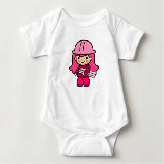 Architect Girl Baby Bodysuit