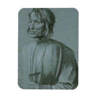 Architect Hieronymus von Augsburg by Durer Vinyl Magnet
