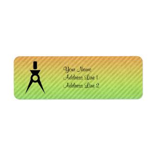 Architect Return Address Label
