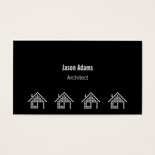Architect | Modern Business Card