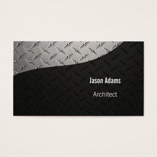Architect   Modern Business Card