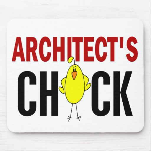 Architect's Chick Mouse Mats