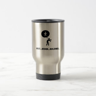 Architect Stainless Steel Travel Mug
