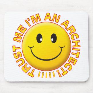 Architect Trust Me Smiley Mousemat