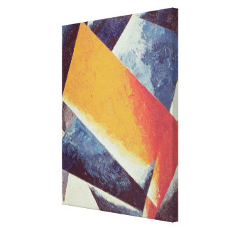 Architectonic Composition Gallery Wrap Canvas