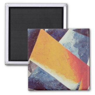 Architectonic Composition Square Magnet