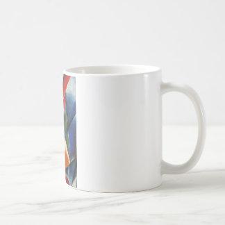 Architectonic Painting by Lyubov Popova Basic White Mug