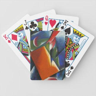 Architectonic Painting by Lyubov Popova Card Decks