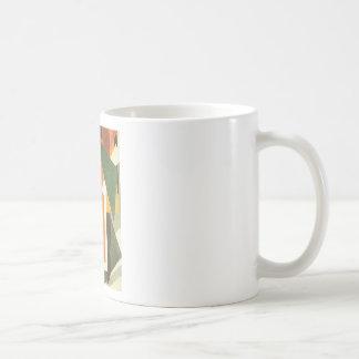 Architectonics in Painting by Lyubov Popova Basic White Mug
