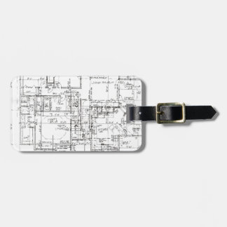 Architects Everything! Luggage Tag