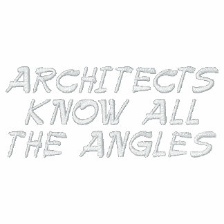 ARCHITECTS KNOW ALL THE ANGLES HOODIE