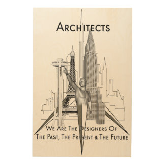 Architects Wood Canvas