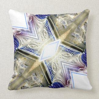 Architectural Abstract Complex Modern Art Pillow 2