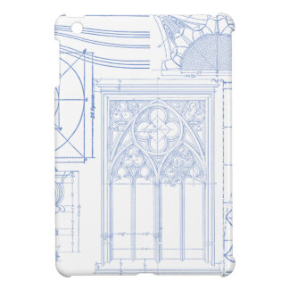 Architectural Blueprints Cover For The iPad Mini