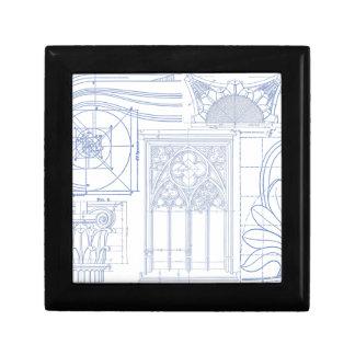 Architectural Blueprints Gift Box