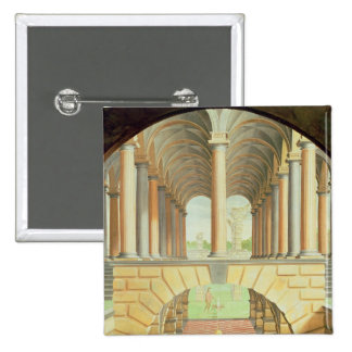 Architectural Capriccio 15 Cm Square Badge