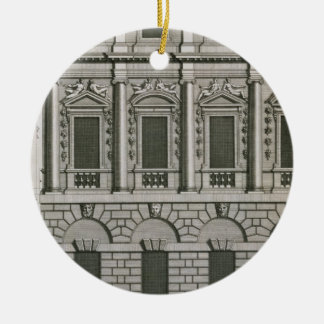 Architectural design demonstrating Palladian propo Christmas Ornament