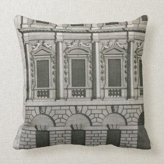 Architectural design demonstrating Palladian propo Cushion