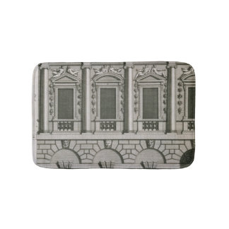 Architectural design demonstrating Palladian propo Bath Mats