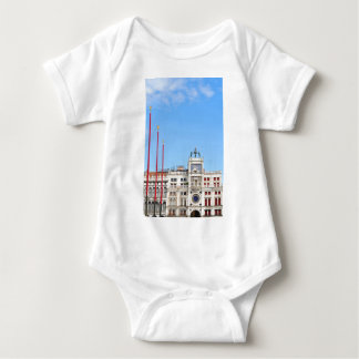 Architectural detail in Venice, Italy Baby Bodysuit
