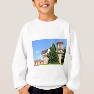 Architectural detail of old Romanian church Sweatshirt